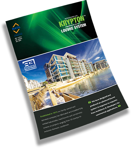 krypton brochure img - KRYPTON LOUVRE SYSTEM