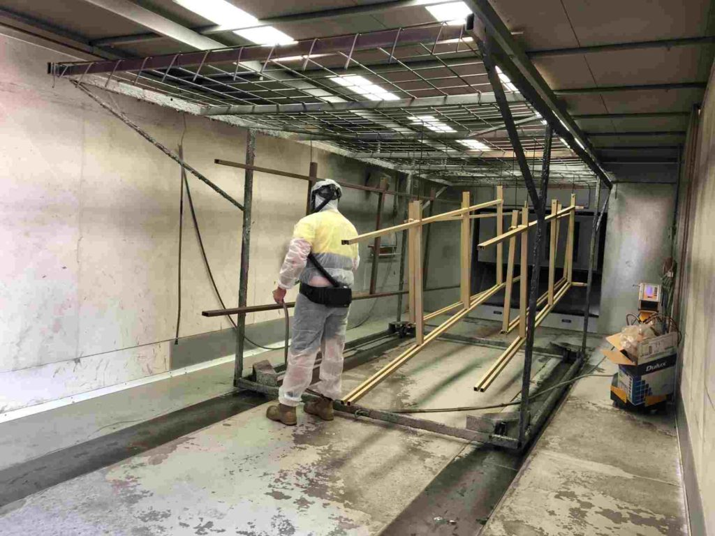Spray Booth Southport Powder Coating 2 1024x768 - Powder Coating Plant and Recent Upgrades