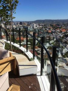 Aluminium Balustrades Structural Glass Balustrade System 224x300 - Structural Glass Wind Barriers and Seaview Balustrade System for a Luxury Apartment Building