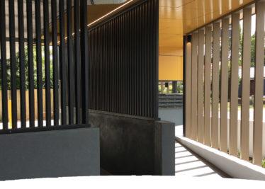 Aluminium Balustrades Facades McNab Project Springwood 374x267 - Facades Featured At McNab Project At Springwood