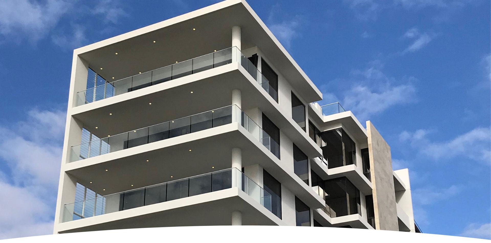 Beachfront Residential Paradise featuring Frameless Glass Balustrades